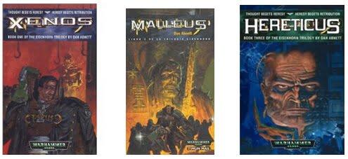 Trilogía Xenos, Malleus, Hereticus