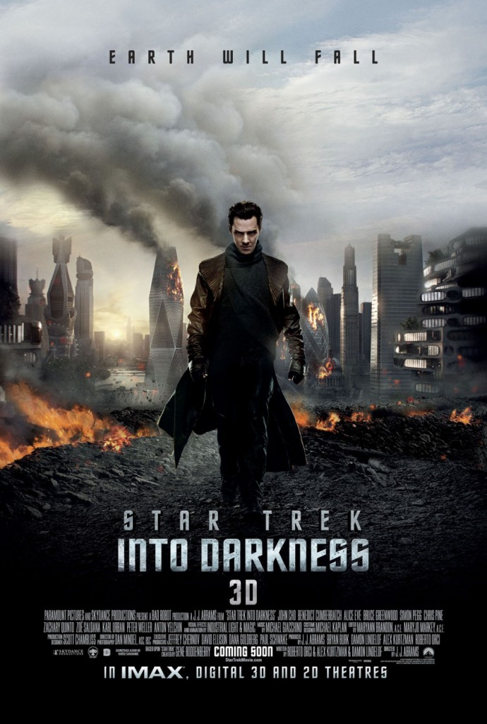 Star Trek into the darkness poster