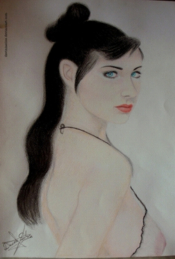 Eulalia blue - Davinia Siles drawing galleries